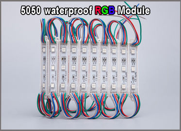 China RGB LED light waterproof  Modules lamp 5050 led for color changing lighting letters factory
