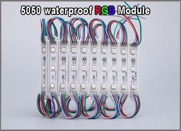 China Waterproof 5050 SMD LED modules RGB module light led backlight distributor