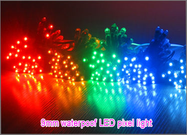 China 9mm LED pixel light 5V/12V dot light Red Green Blue Yellow White Pink Voilet Orange advertising lighting letters distributor