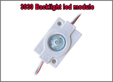 China 1.5w DC12v Injection Module With 160degree lens 3030 smd backlight led module light distributor