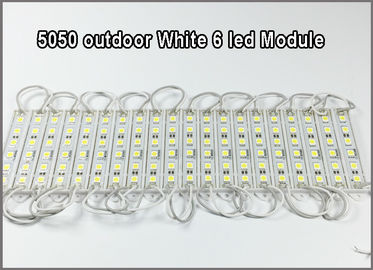 China 6*5050 12V LED Module 6LEDs modules led letter backlight outdoor usage ip67 distributor