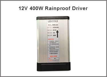 China Switching power supply 12V 400W rainproof driver led outdoor signboard voltage transfomer distributor