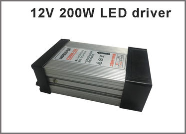China 12V 200W Switching power supply rainproof LED drivers for outdoor led modules distributor