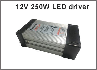 China 12V 250W Switching power supply rainproof LED drivers for outdoor led modules distributor