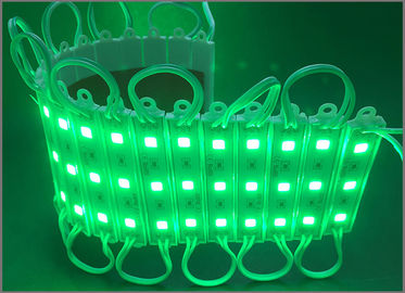 China DC12V 5050 smd led modules green waterproof module light for signs IP67 distributor