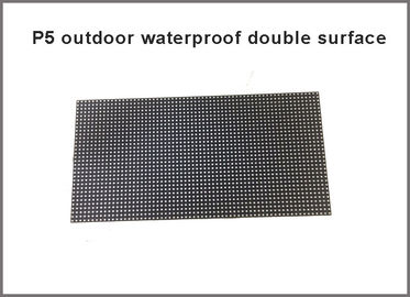 China New products Outdoor P5 RGB LED Module waterproof double surface 320*160MM ,64*32 Pixels 1/8 Scan LED display screen factory