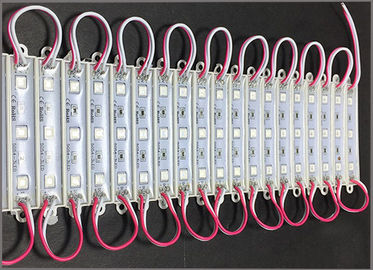 China DC12V LED backlight modules 5050 waterproof red light for led channel letters distributor