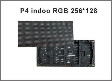 China P4 indoor LED display module 1/16 scan 256*128mm 64*32 pixel  p4 RGB led video display distributor