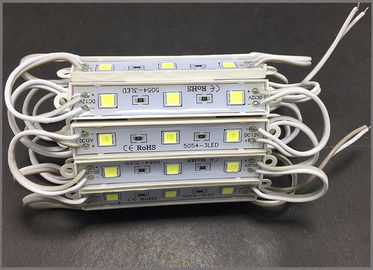 China CE ROHS 5054 modules 3smd 12V LED lightings waterproof for outdoor advertising signage distributor
