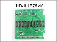 Hub75 Conversion Card Adapter with 10*Hub75 Port Support RGB Full Color LED Panel Module