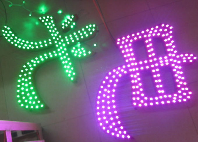 LED pixel pink color 5V Dot light for shop banner decoration