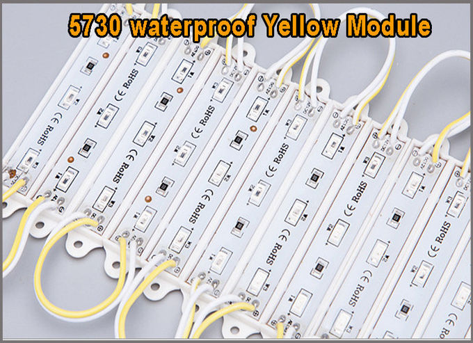 12V moduli light 5730 Yellow modules for led channel letters