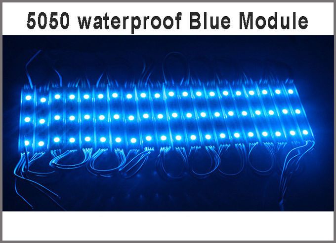 12V SMD 5050 3LED Modules Waterproof LED Module for LED Lighting letters