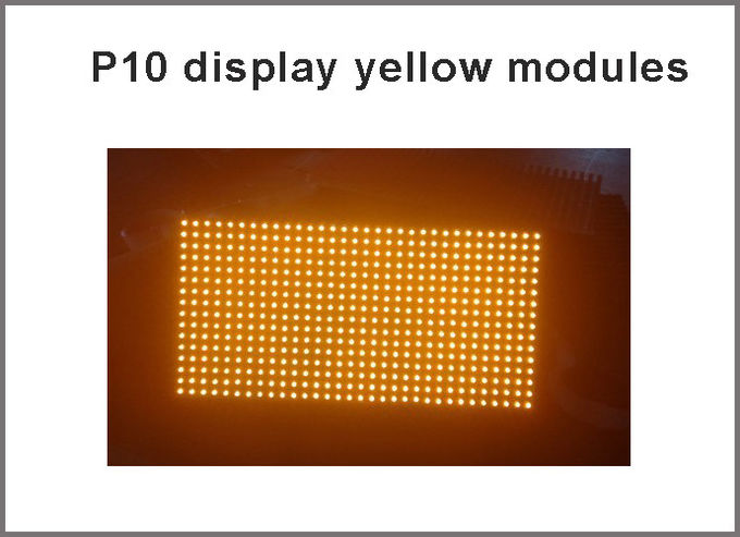 P10 led matrix module light 320*160mm 32*16 yellow P10 display panel module for advertising board