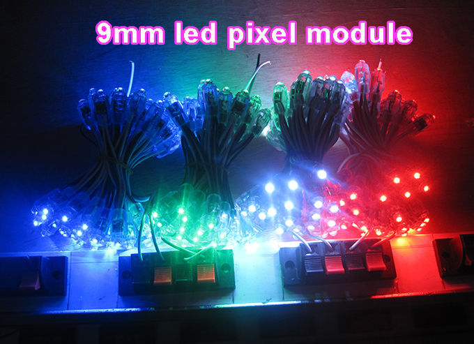 5V 9mm red pixel light IP68 advertising signs led light outdoor building decoration