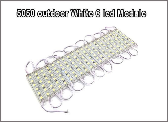 6*5050 12V LED Module 6LEDs modules led letter backlight outdoor usage ip67