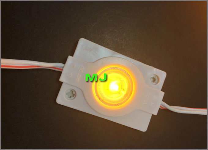 High power DC12v 1.5W 3030 light signage led module for sign board yellow modoles