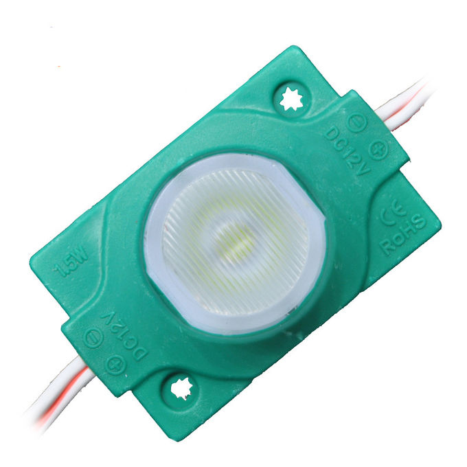 High quality backlight 1.5W led module 3030 dc12v smd lens Red Green Blue Yellow White