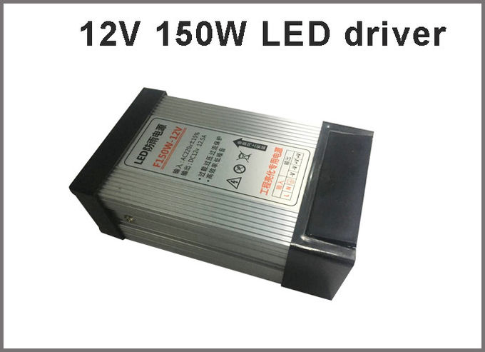 Switching power supply 12V 150W rainproof LED drivers for outdoor led modules
