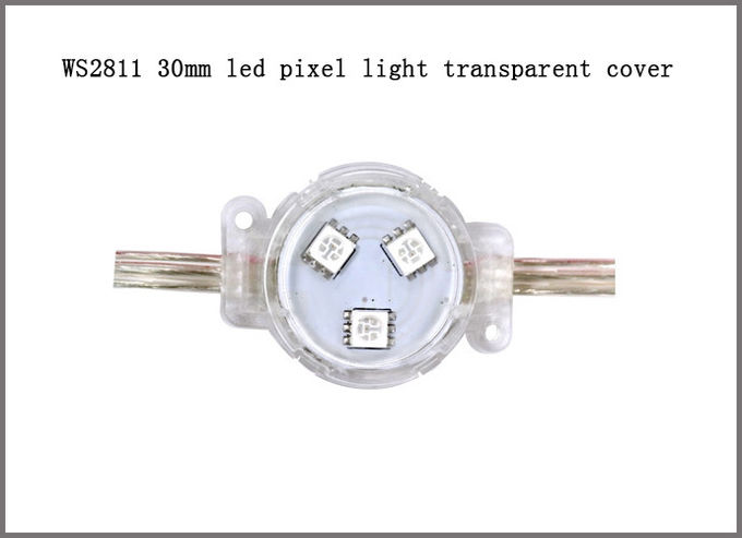 30 mm led point light DC12V WS2811 pixel light IP68 made in China