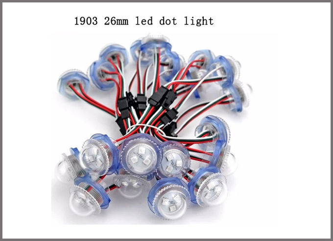 26mm RGB Led Point PIXEL Light 1903IC rgb LED pixel lights for building decoration