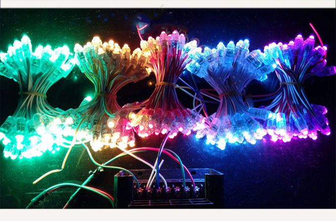 RGB LED Dot light 5V pixels light fullcolor for led channel letters, Decoration lightings